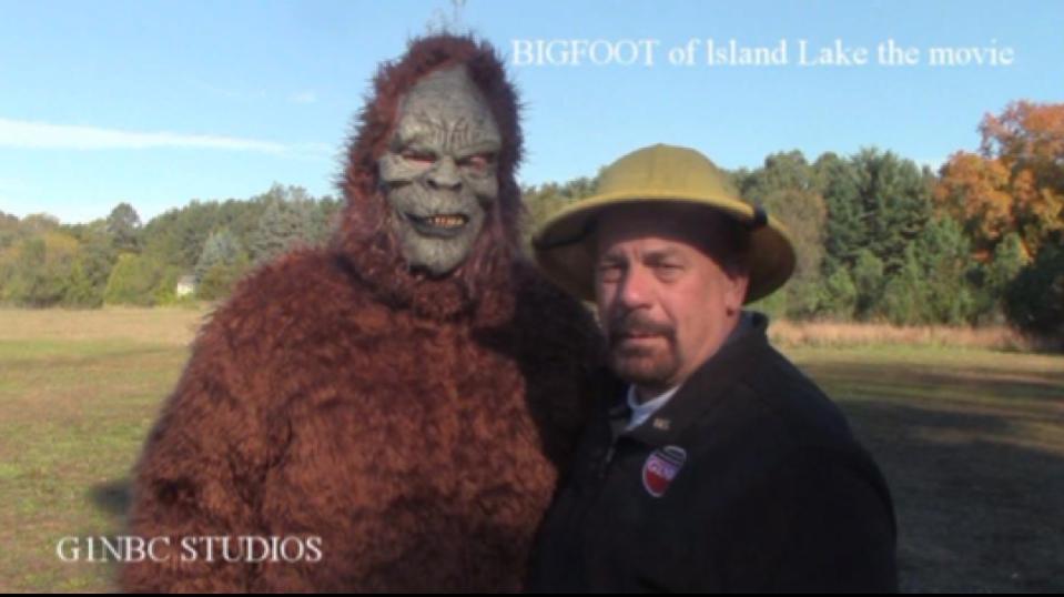 G1NBC STUDIOS BIGFOOT OF ISLAND LAKE THE MOVIE